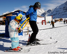 grindelwald ski resort for first time skiers