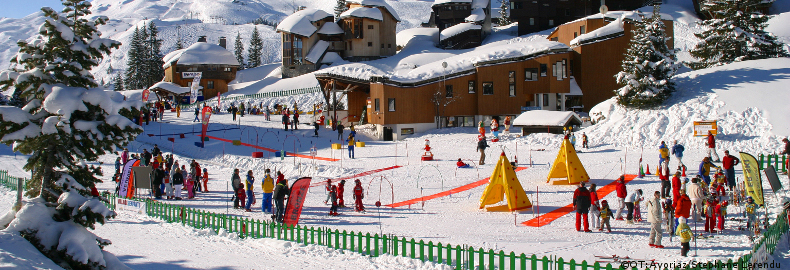 Ski holidays for beginners