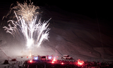 christmas skiing holidays in tignes