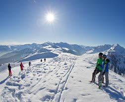family skiing holidays in alpbach, austria