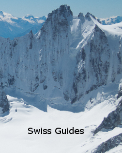 swiss guides,verbier mountain guides