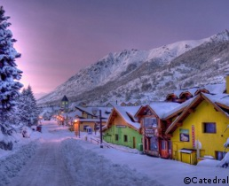 ski holidays in cerro catedral, bariloche,  bariloche ski resort, skiing in catedral