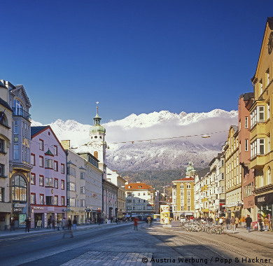 city breaks in austria, austrian cities, holiday rentals in austria, salzburg, innsbruck, vienna city breaks