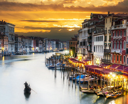 venice city breaks, grand canal