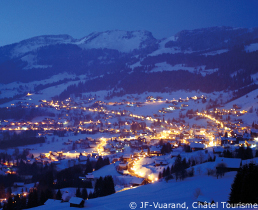 chatel snow forecast and ski conditions