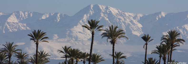 ski holidays in morocco,marrakech, skiing in morocco, heli-skiing
