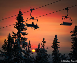trysil ski resort, ski holidays in norway, northern lights