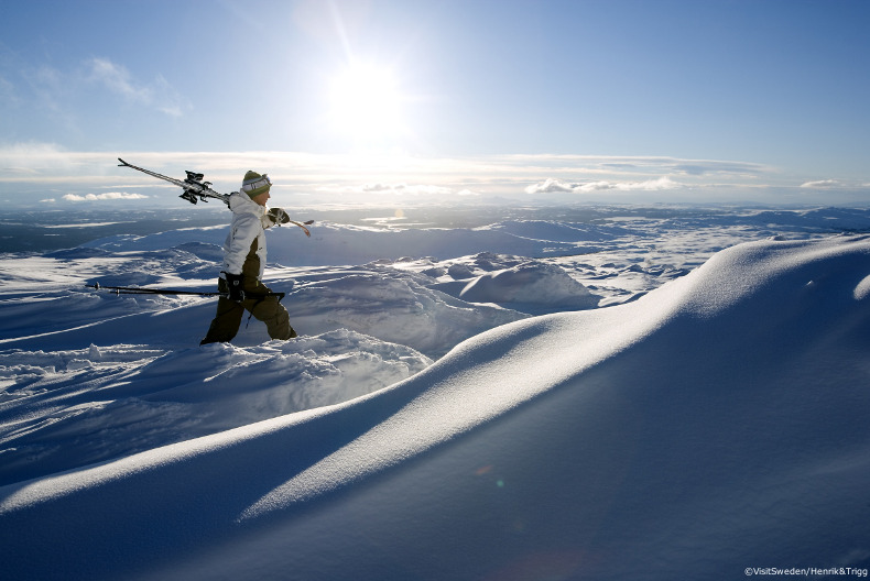 ski holidays in sweden, skiing in lapland