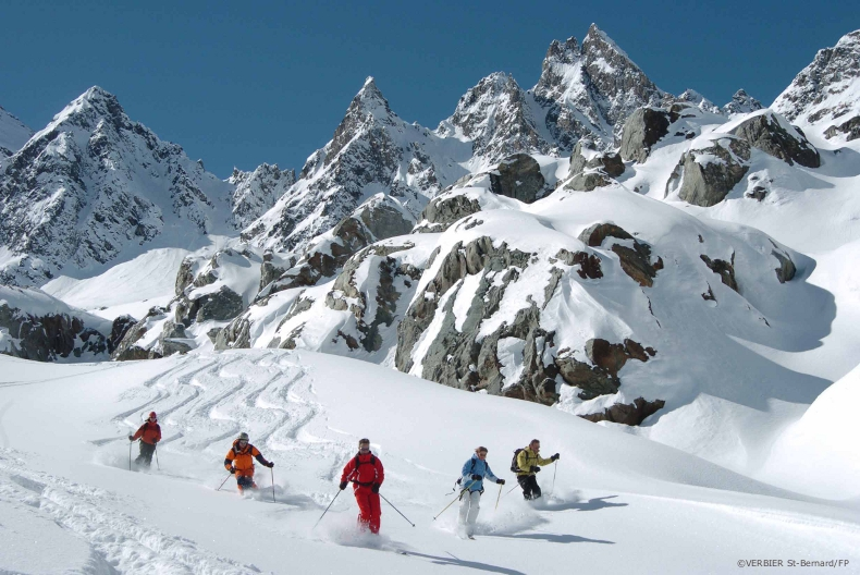 ski touring around the 4 valleys near verbier