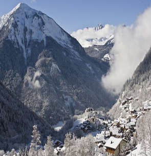 champagny chalets for sale