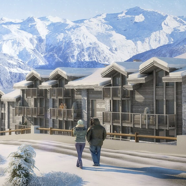 new chalet for sale in courchevel