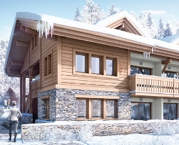 chamonix, new chalets for sale in flegere