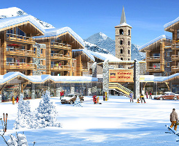 new chalets for sale in tignes