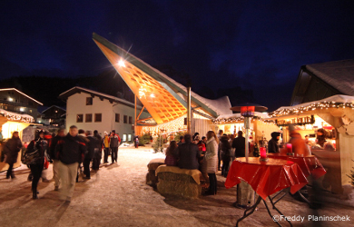 corvara christmas market