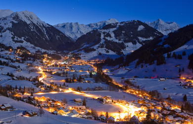 gstaad early season skiing and christmas market