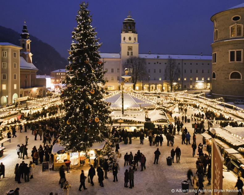 salzburg christmas market austria