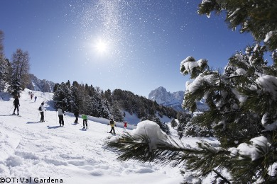 skiing in the dolomites, ski holidays