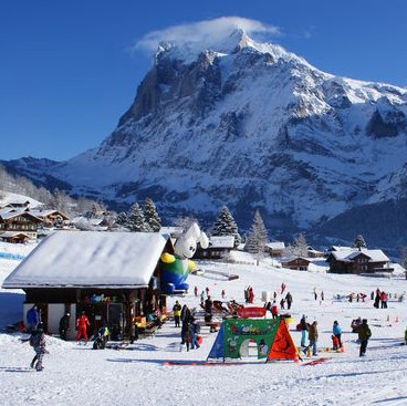 grindelwald for beginner skiers