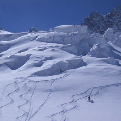 christmas skiing in saas fee
