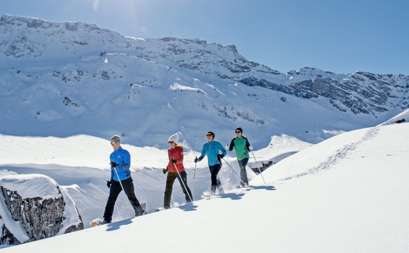 guided off-piste skiing Adelboden
