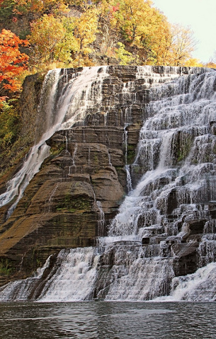 Cayuga Lake vacation adventures - ithica falls