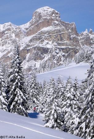 corvara vacances au ski, ski à corvara