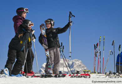 cortina childrens ski lessons