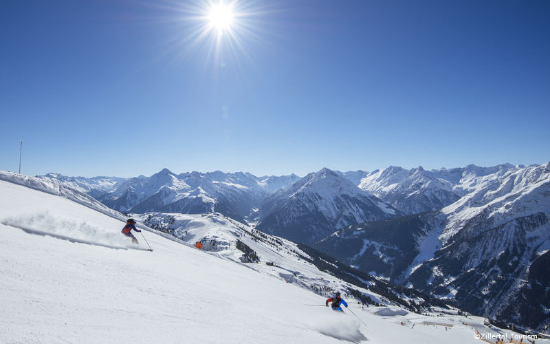 skiing in finkenberg, ski holidays