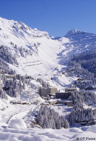 ski holidays in flaine, skiing in flaine, chalets for rent in flaine