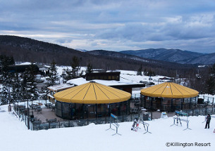 killington apres-ski bar on the slopes