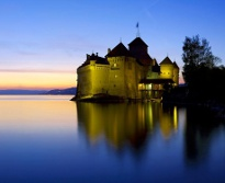 montreux castle - day trip from megeve