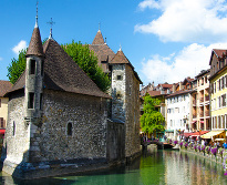 day trip from megeve, lake annecy