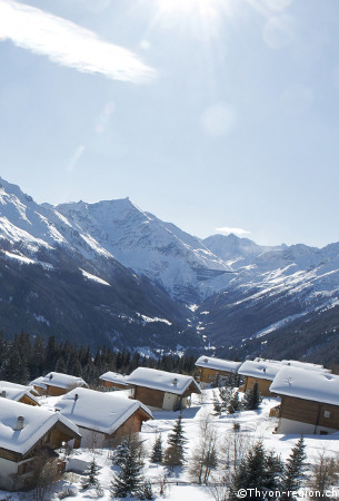 ski holidays in thyon - les-collons, skiing in tyhon, les 4 vallees