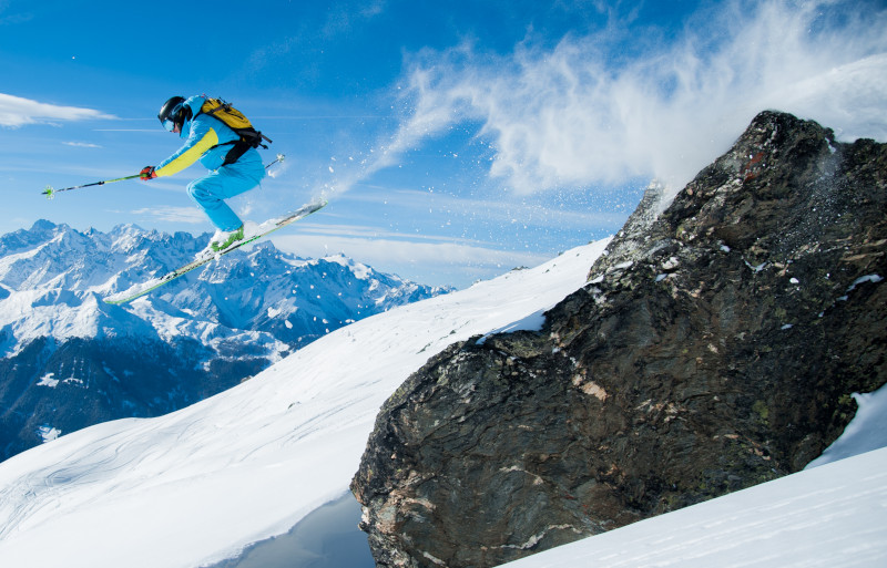 verbier ski touring, mountain guided ski tours