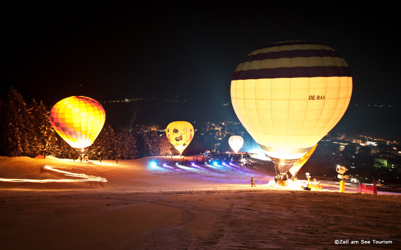 Zell am See - night of the balloons
