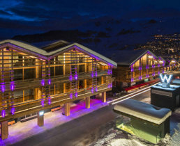 w hotel and spa, verbier