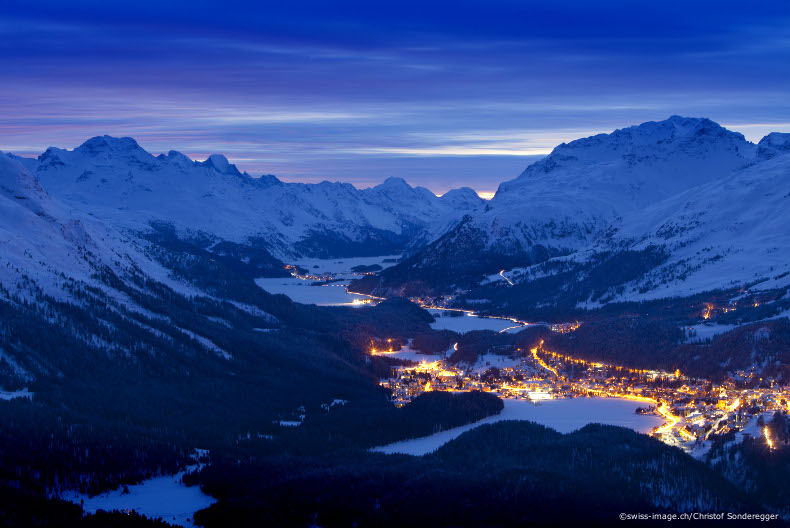 snow forecats, weather conditions, swiss ski resorts, st-moritz
